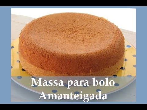 Massa amanteigada para bolos de Pasta Americana  MUITO SABOROSA