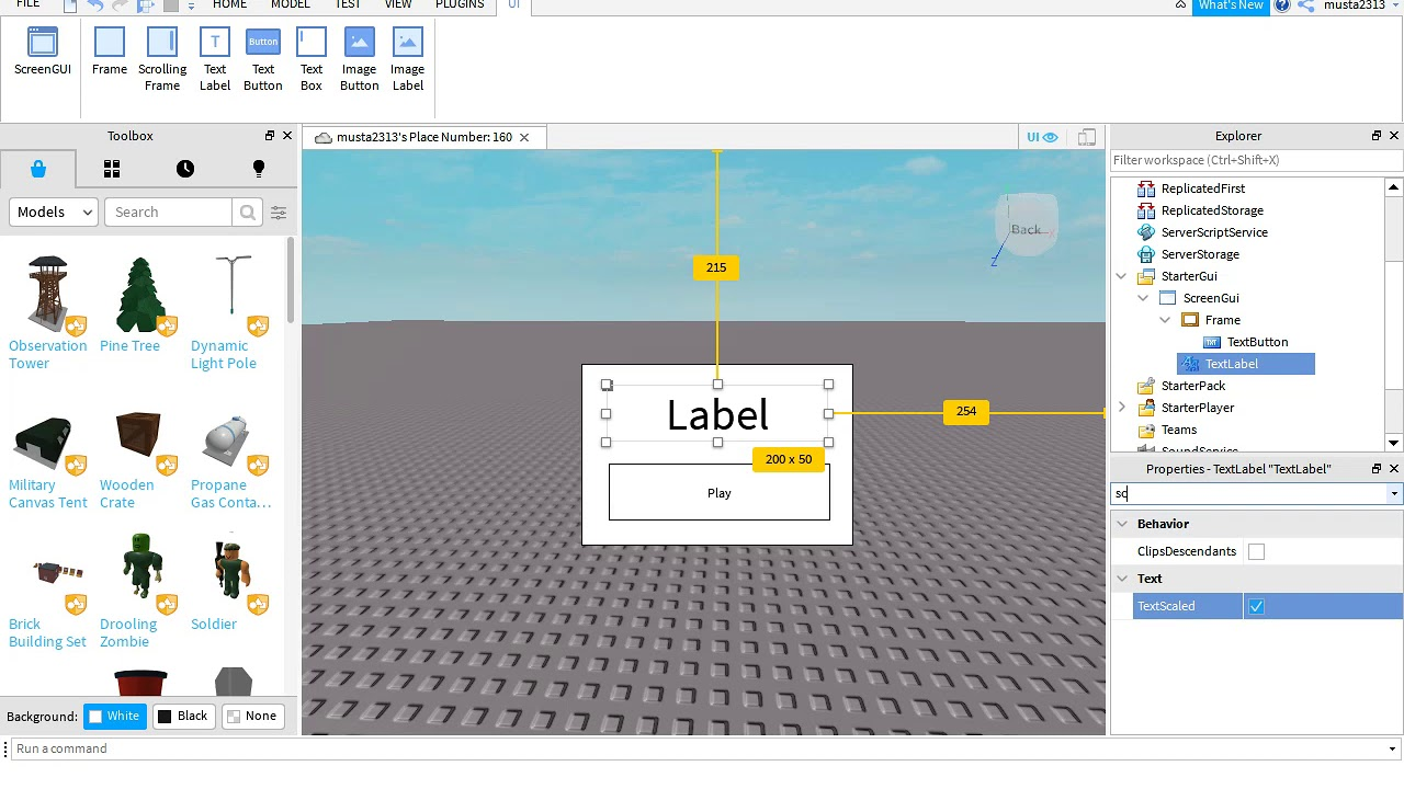 A Roblox Game