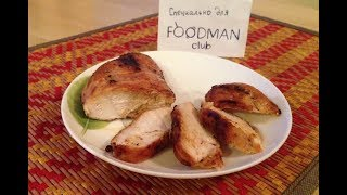 Жареное куриное филе на каймаке: рецепт от Foodman.club