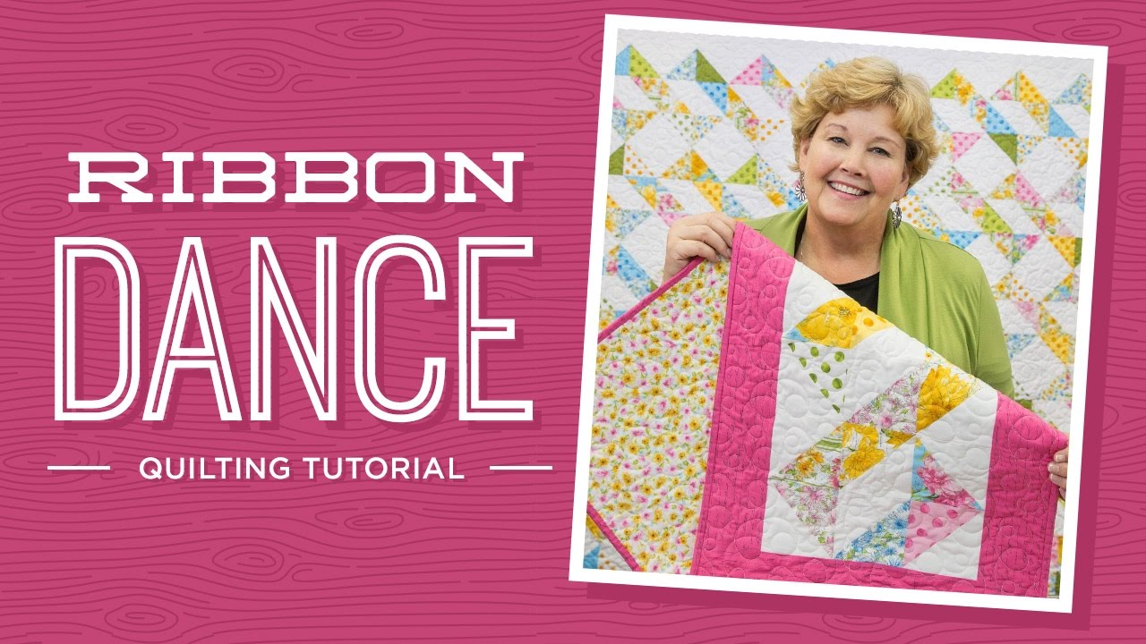 Learn to make the Ribbon Dance Quilt with Jenny! - YouTube : missouri star quilt company tutorials channel - Adamdwight.com