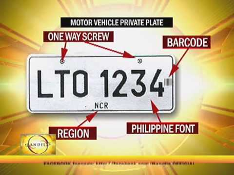 New Vehicle License Plate Design Eyed Youtube