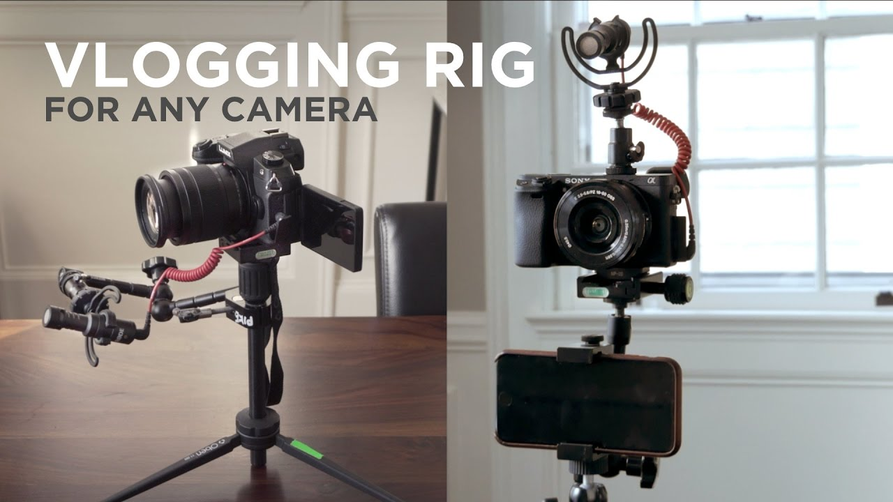 Custom Vlogging Rig For Any Camera Youtube