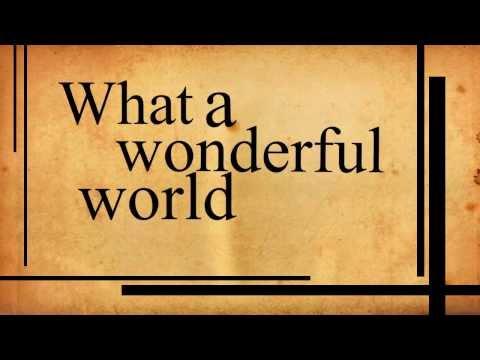 What a wonderful world (Punk Version) - Joey Ramone