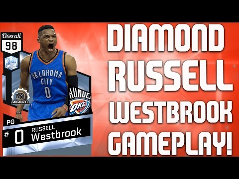 Diamond Russell Westbrook Gameplay - My Best Squad - NBA 2K17 MyTeam Gameplay - FGF