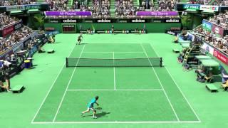 Virtua Tennis 4 PC Gameplay | 720p | HD
