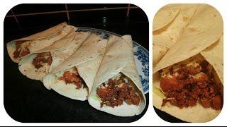 Mexican tacos en Serbian manera