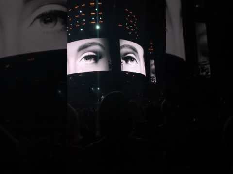 Adele Hello Perth live (opening)