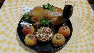 Утка мулард, запеченная в духовке. Mulard duck baked in the oven.