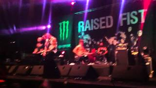 Raised Fist - Breaking me up (Live @ Punk Rock Holiday 2k14)