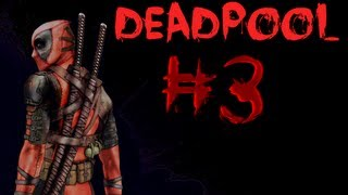 Deadpool Gameplay Walkthrough Part 3 - ROOFTOP MASSACRE