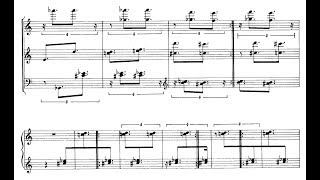 Morton Feldman - Triadic Memories (1981) for piano