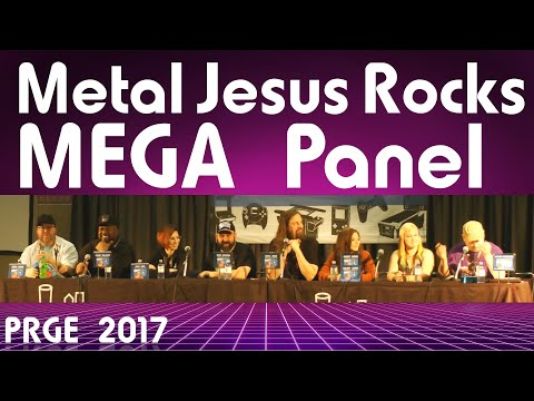 PRGE 2017 - Metal Jesus Rocks Mega Panel - Portland Retro Gaming Expo 1080p