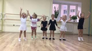 У Златы первый открытый урок в мастерской хореографии Зыковой Алены