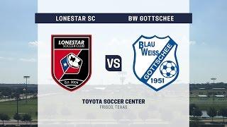 Development Academy Showcase: U-13/14: Lonestar SC vs. BW Gottschee