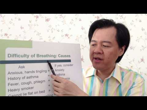 Breathing Difficulty Or Hard To Breathe - Dr Willie Ong Health Blog #31