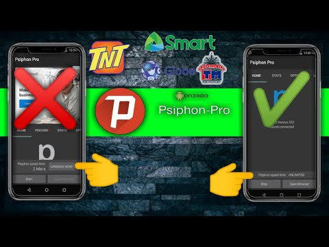 PSIPHON PRO UNLIMITED! AYOS TO! LIBRENG INTERNET!😱