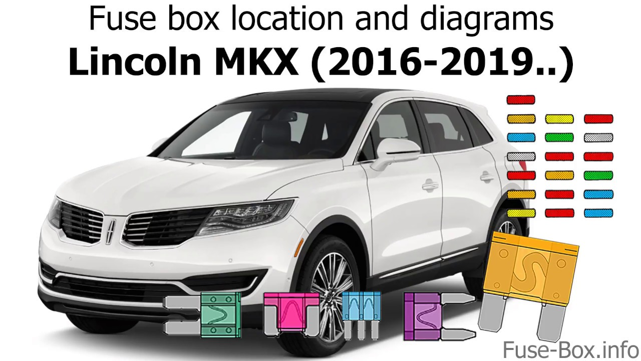 medium resolution of fuse box location and diagrams lincoln mkx 2016 2019 youtube 2012 lincoln mks fuse