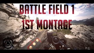 Battlefield 1 Montage 第1弾スナイパーキル日本1位のスナイパー連続キルMontage 4K 60fps