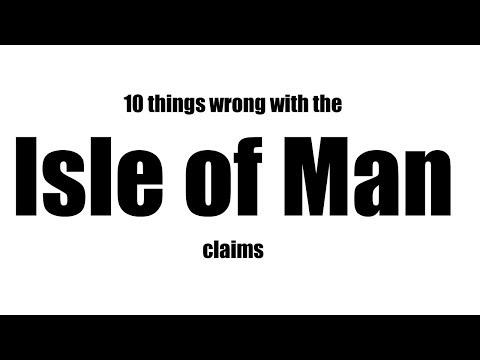Summary of Isle of Man claims