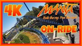 Manta On-ride Front Row (4K POV) SeaWorld San Diego