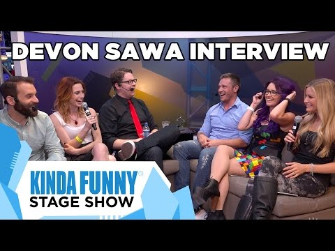 Devon Sawa Is the Man - Kinda Funny Stage Show E3 2015