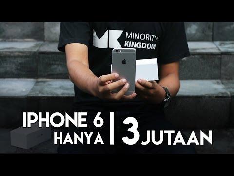 Unboxing iPhone 6 Indonesia 3,2 Jutaan ?