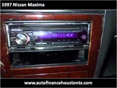 1997 Nissan Maxima Used Cars Houston,TX Auto Finance
