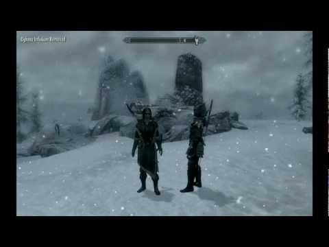 Skyrim Fast Level Up to 100 on PC with console