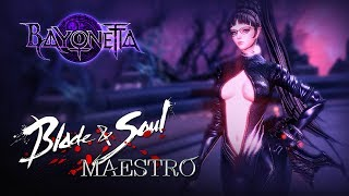 Blade u0026 Soul - Bayonetta Mod (Maestro) - Act.8 Gameplay (Spoilers) - Test Server - F2P - KR