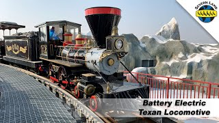 Severn Lamb Battery Electric Texan Train