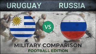 URUGUAY vs RUSSIA - Military Comparison - 2018 (FOOTBALL EDITION)