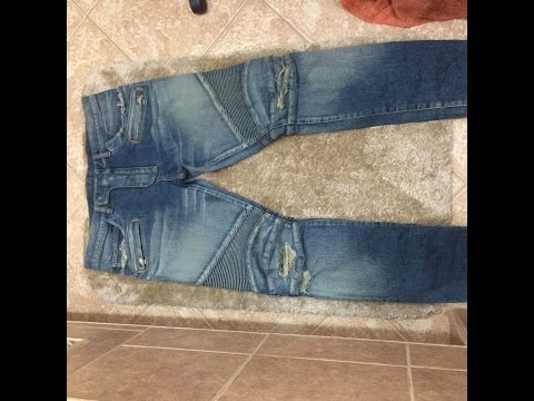 Authentic Distressed Balmain Jeans Review