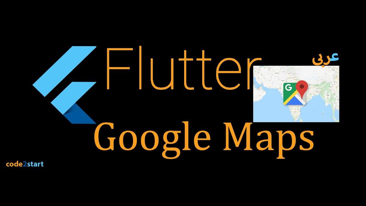 6- Flutter google maps - adding info window to the marker