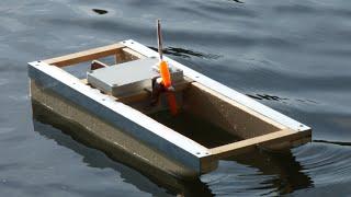 DIY : Comment faire un bateau (catamaran hydroglisseur) RC