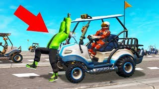 IMPOSSIBLE Cross The Road Challenge In FORTNITE!