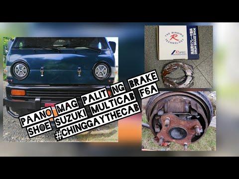 Suzuki multicab diy brake drum assembly/brake shoe suzuki f6a multicab