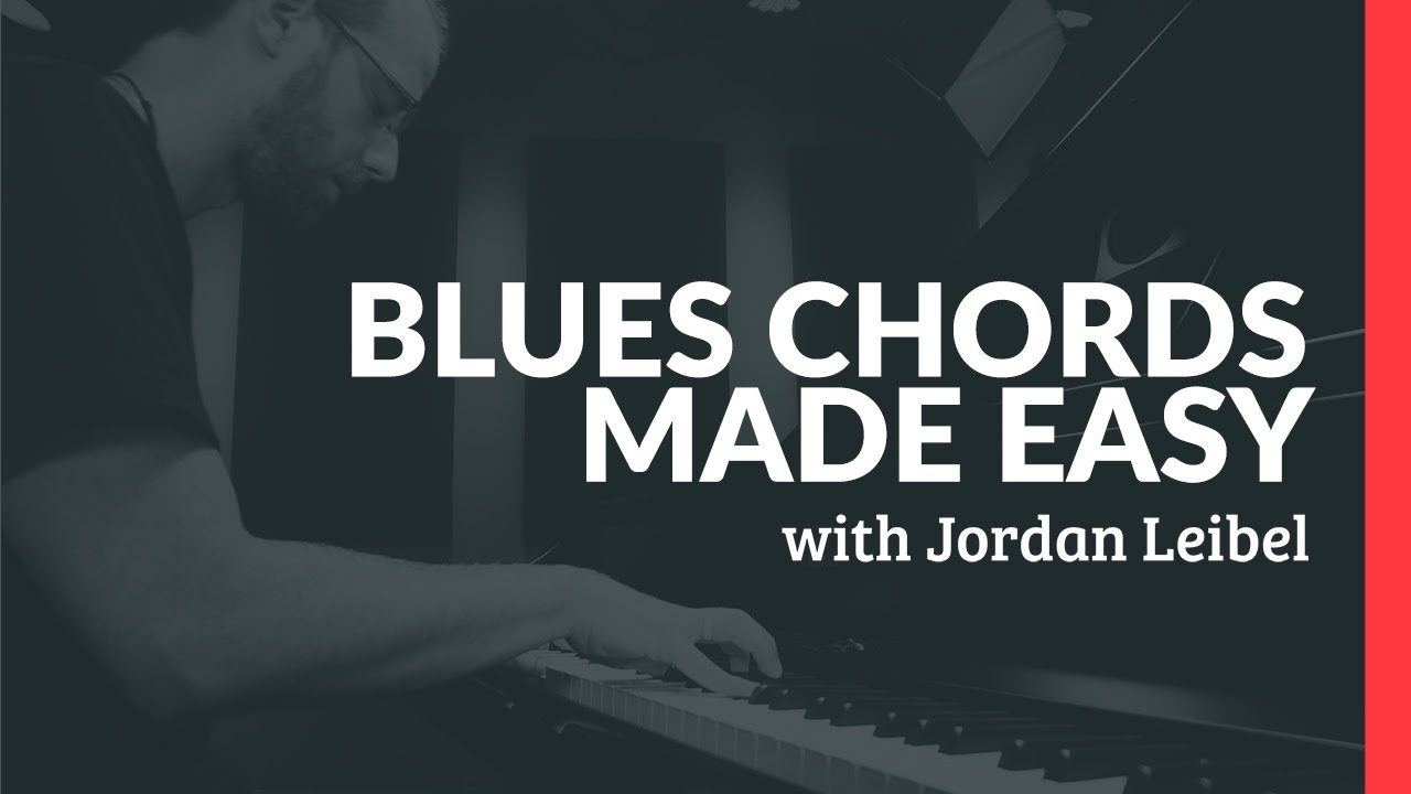 Blues Chords Made Easy - Piano Lessons (Pianote)