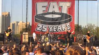 Lagwagon: Brown Eyed Girl, ,  live @ Echo Beach, Toronto. August 6,  2015