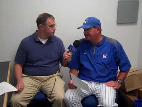 University of Memphis Baseball Postgame Interviews (5-11 ...
