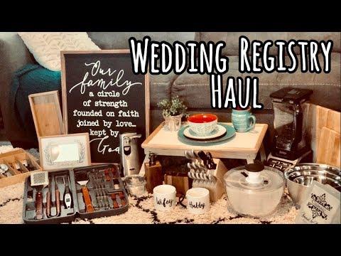 HUGE TARGET WEDDING REGISTRY HAUL   TIPS ON WEDDING REGISTRY