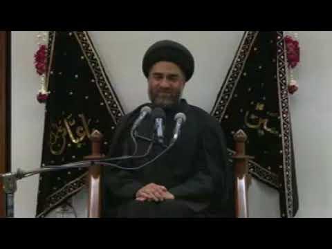 01 Majlis 29Th Zilhaj 1438 2017 Maulana Ali Raza Rizvi