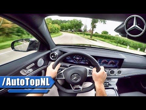 2017 Mercedes Benz E Class E350d POV Test Drive by AutoTopNL