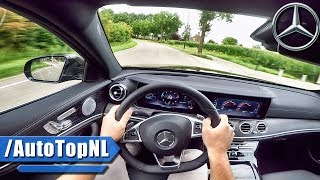 2017 mercedes benz e class e350d pov test drive by autotopnl
