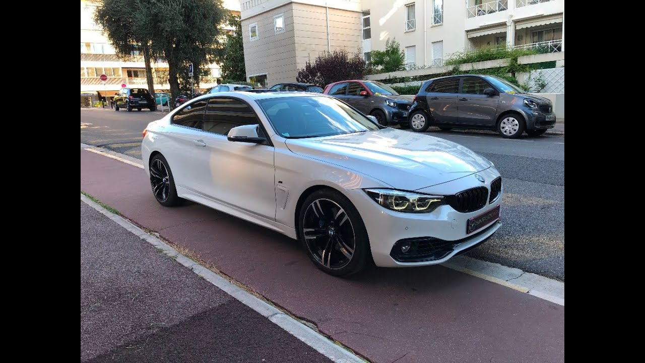 Bmw Serie 4 Coupe 440i 326ch Bva8 M Sport Occasion Simplici Car Cannes Youtube