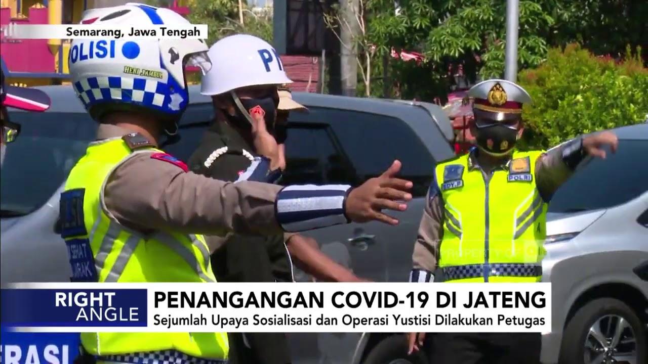 Penanganan Covid-19 di Jateng