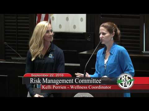 Risk Management Committee - September 22, 2016