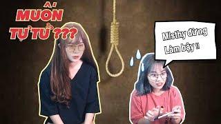 Stress công việc Misthy muốn tự tử. Misđặc sẽ làm gì? || Khi Misthy chán LoL