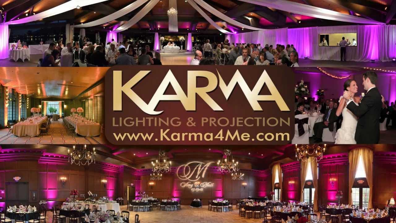 Karma Welcome Video Wedding Reception Lighting Ideas Youtube