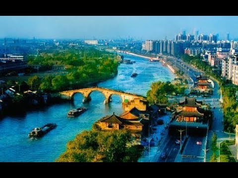 The Grand Canal of China in foreigners' eyes