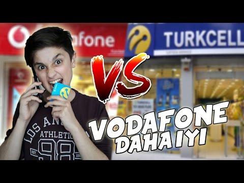 TURKCELL'İ ARAYIP VODAFONE DAHA İYİ DEDİM !!
